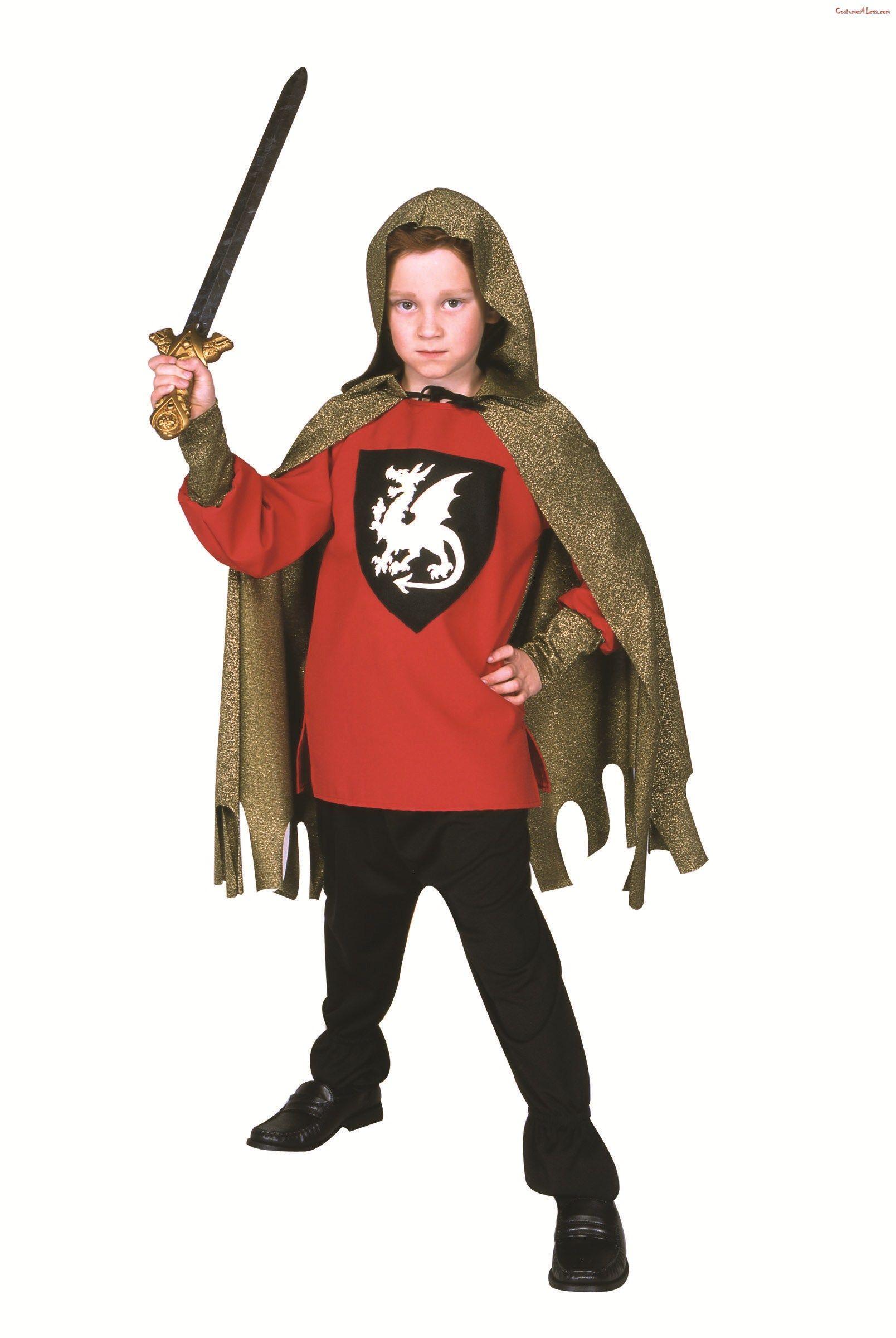 Child Medieval Dragon Knight Costume