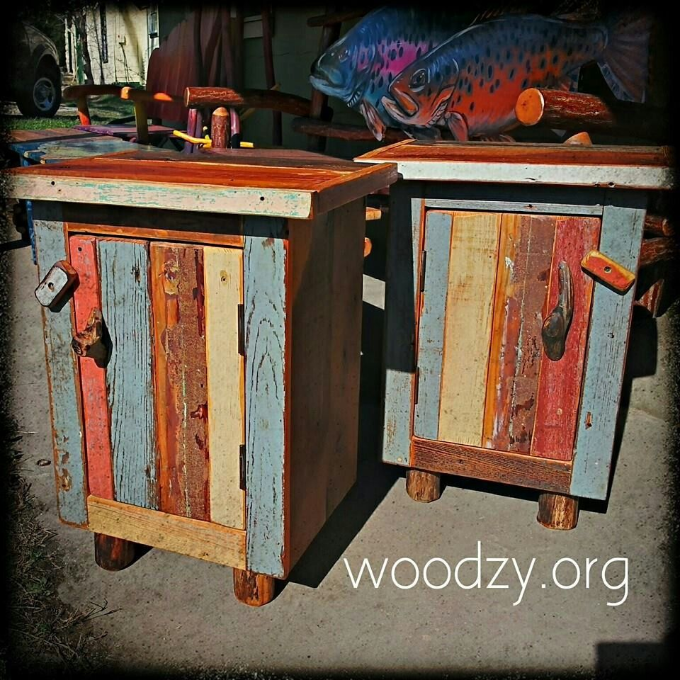 Rustic Furniture By Woodzy! Made From Reclaimed Wood.