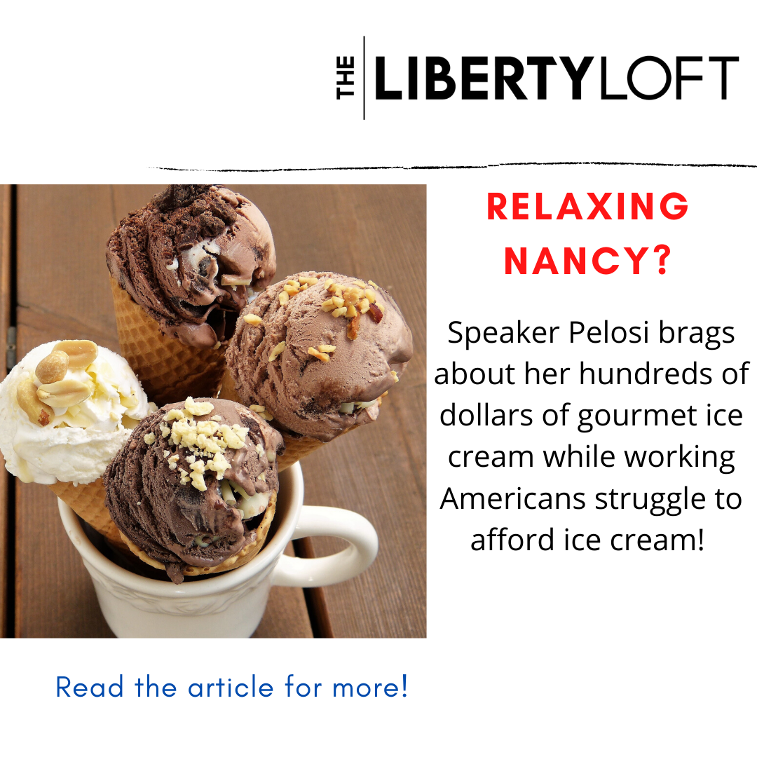 Pelosi Shows Off Her Hundreds Of Dollars In Gourmet Ice Cream On A Late Night Tv Show Apparently She S Too Busy In 2020 Eating Ice Cream Gourmet Ice Cream Ice Cream