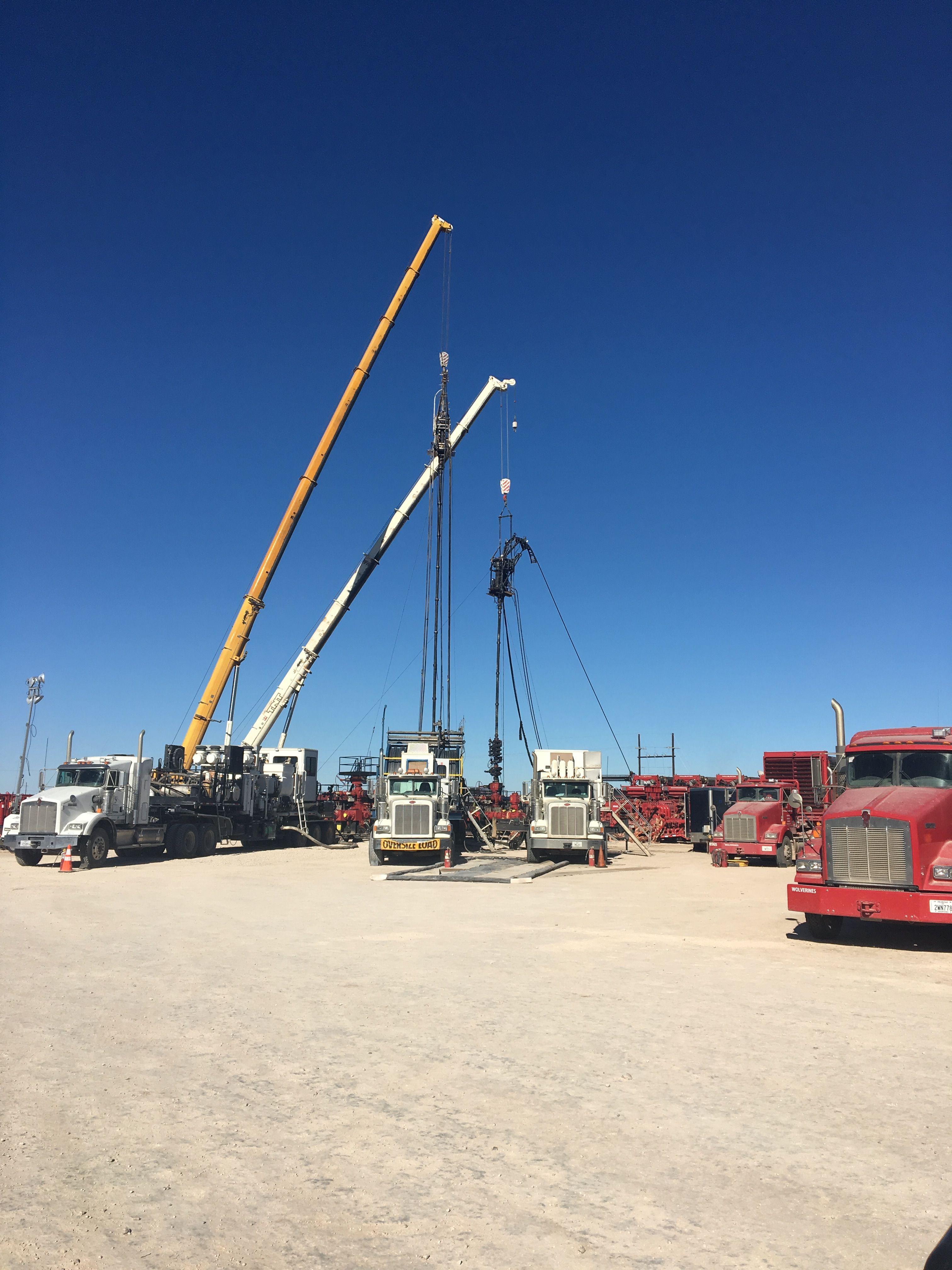 Double Fishing Job South Of Midland Tx Oilfield Midland Travel