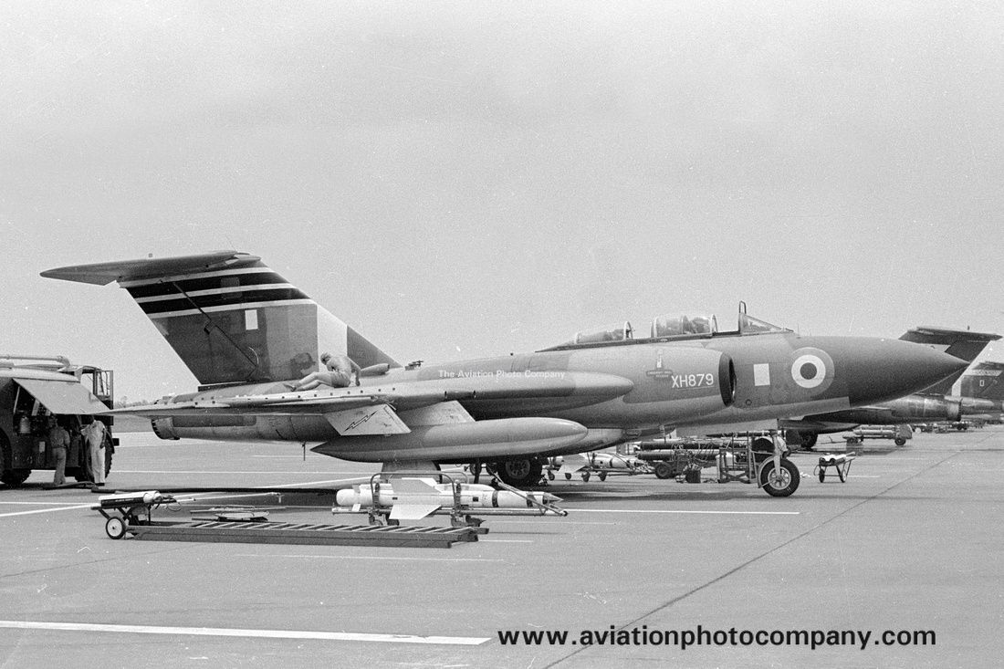 RAF 60 Squadron Gloster Javelin FAW.9 XH879/J at RAF