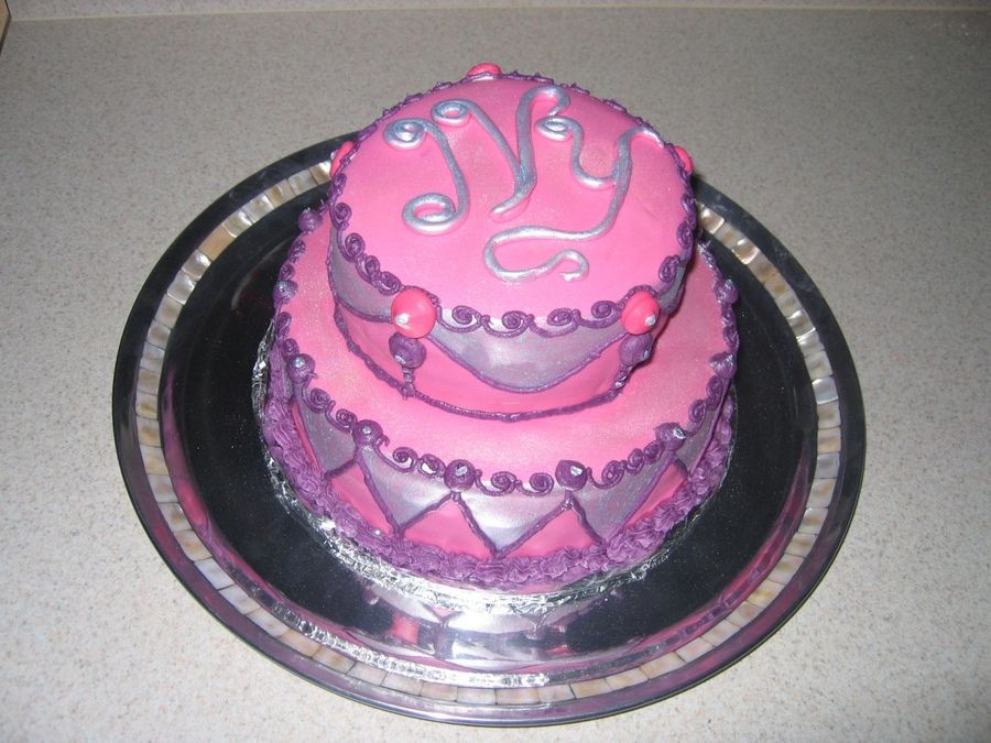 Birthday Cake For 9 Year Old Girl Childrens Birthday Cakes Pink