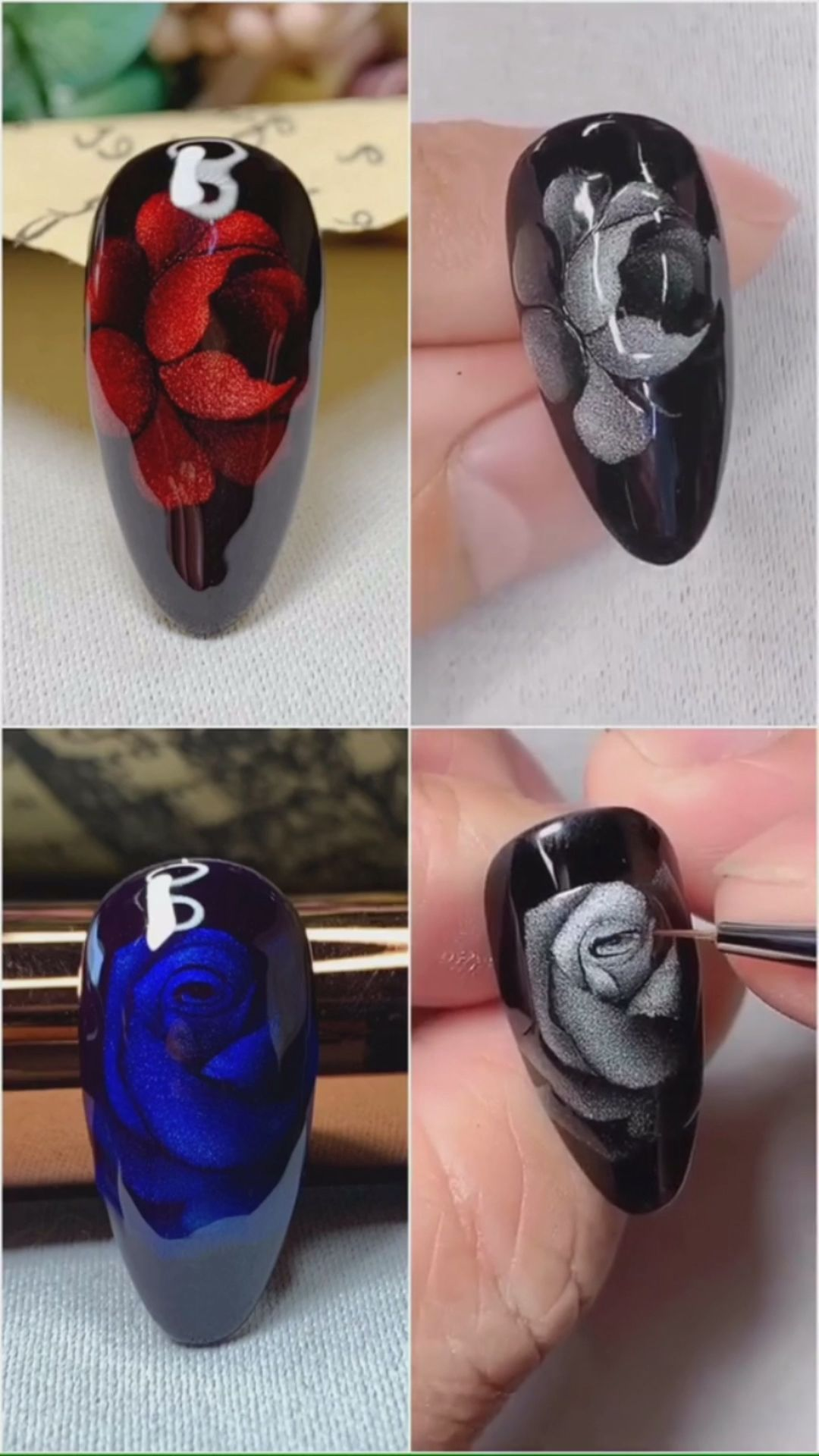 Simple nails art design video Tutorials Compilation Part 67 #mattenails