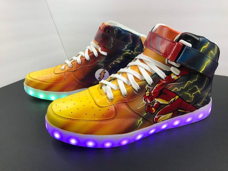 Airbrushed Air Force Ones Shoe