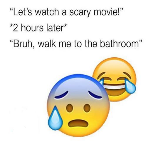 Lol I Have Friends That Do This But I Absolutely Love Scary Movies Funny Picture Quotes Funny Quotes Relatable