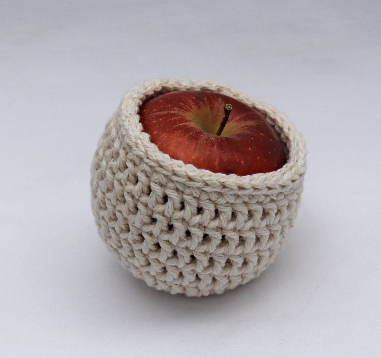 Cotton Crochet Basket  Organizing Tool  Fruit Cozy  Tea Caddy  Crochet Bowl  Cotton Bowl  Bowlstorage solutions storage  organize Cotton Crochet Basket  Organizing Tool...
