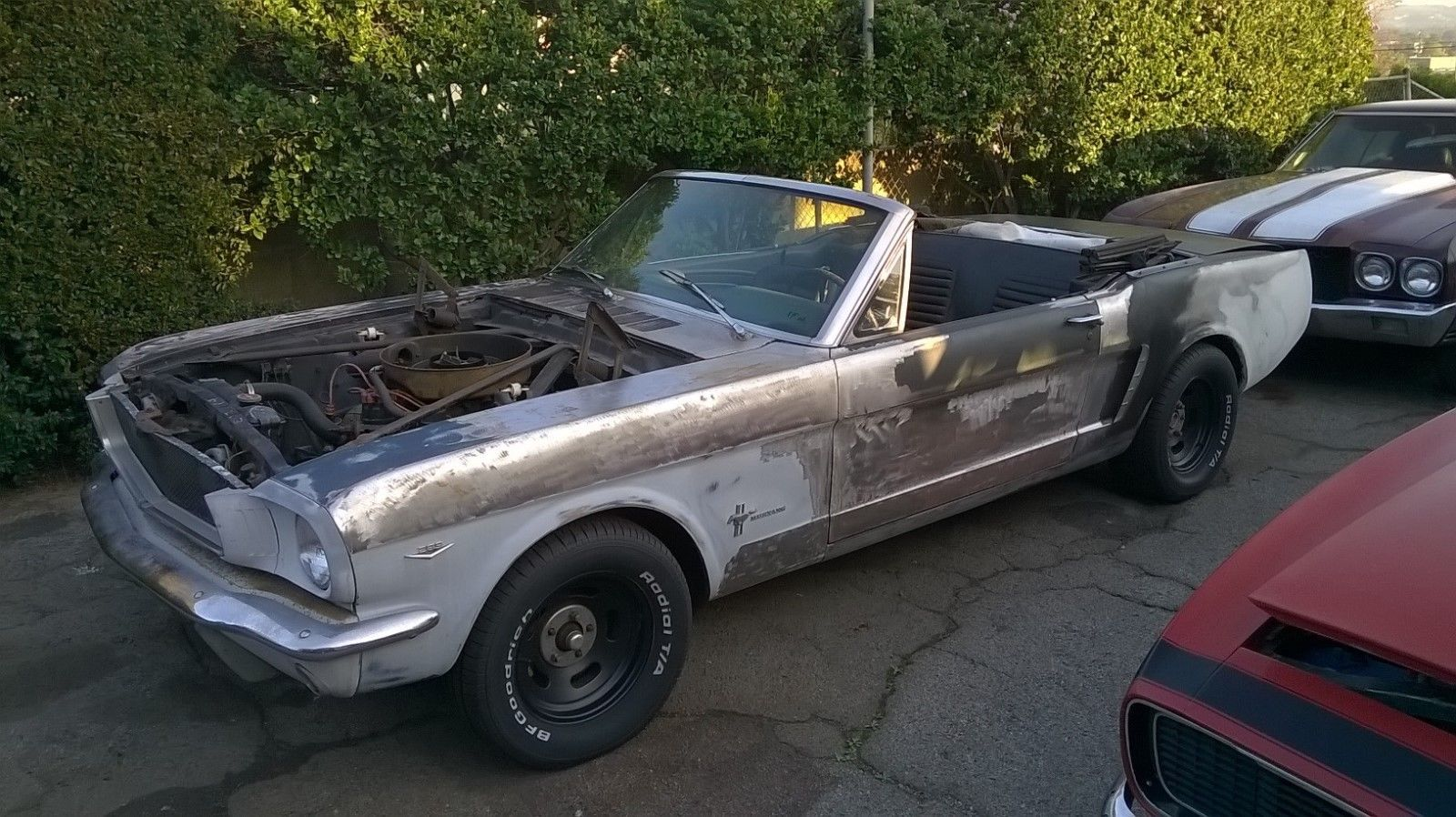Cool Amazing 1965 Ford Mustang 1965 Ford Mustang V8 Convertible California Car Original Sheet Metal No Rust 2018 Ford Mustang Mustang Motorcycles For Sale