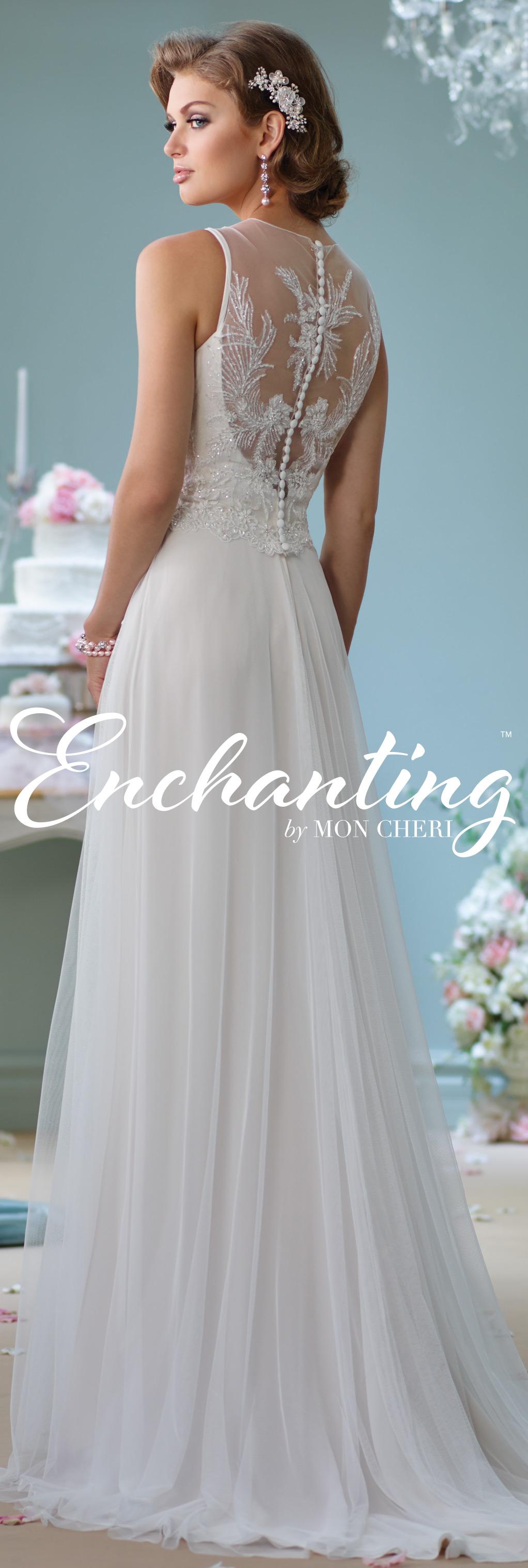 Modern wedding dresses by mon cheri novios vestidos novia y