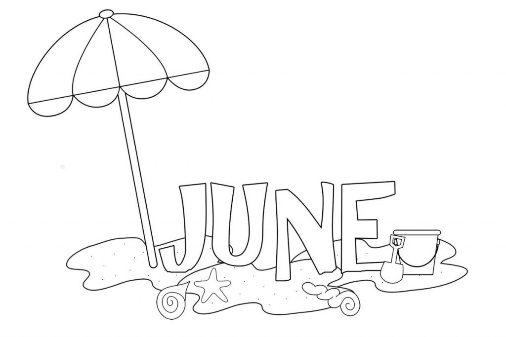 June Coloring Pages Best Coloring Pages For Kids Summer Coloring Pages Fall Coloring Pages Coloring Pages