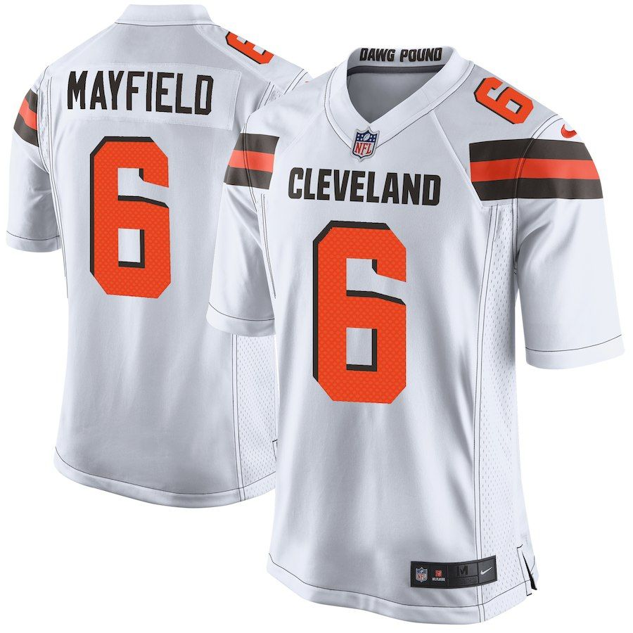 39c4588a93c Baker Mayfield Cleveland Browns Nike Youth Color Rush Player Game Jersey –  Brown