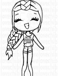 We Heart It Bff Chibi Template