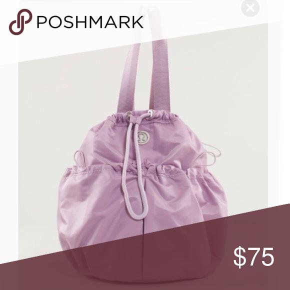 6e4f1b70a1d Lululemon Bliss Bag Rose Quartz Gently used Lululemon Bliss Bag In Rose  Quartz. More information