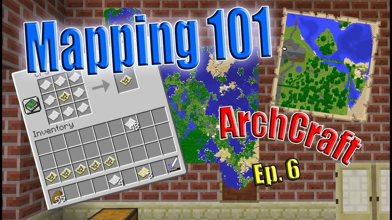 Everything about minecraft Mapping | ArchCraft with Avomance