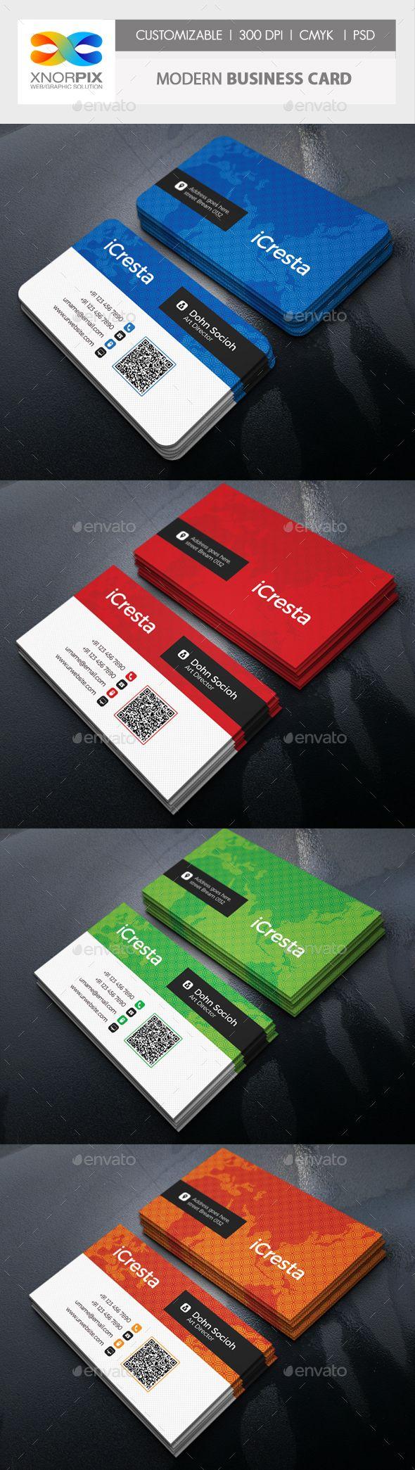 Modern Business Card Modern Business Cards Business Card Photoshop Business Card Template Design