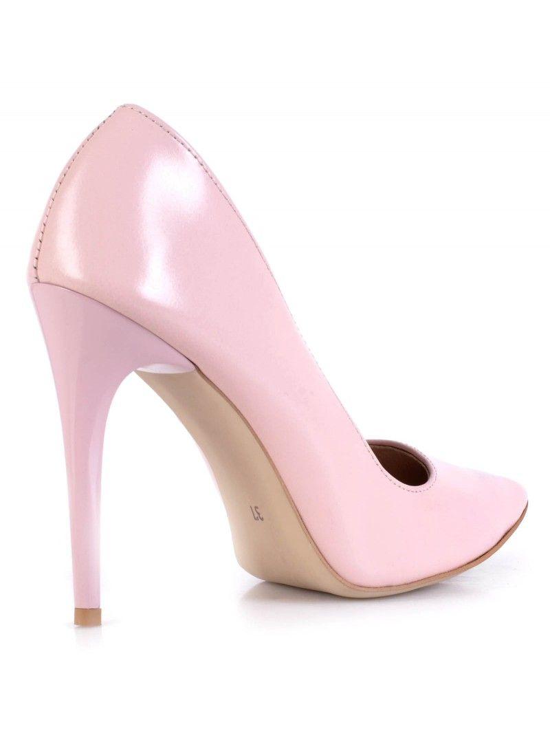 Piekne Polskie Szpilki Miss Wloska Skora Pudrowy Roz Calzado Sklep Buty Damskie Warszawa Heels Pumps Shoes