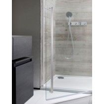 Simpsons Pier Hinged Door With Inline Panel Shower Enclosure Shower Bathroom