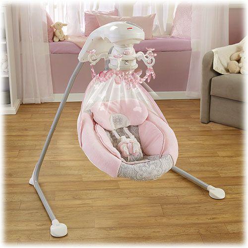 & Rose Chandelier Cradle u0027n Swing