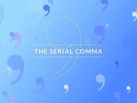 Why don't they call it the Merriam-Webster comma?