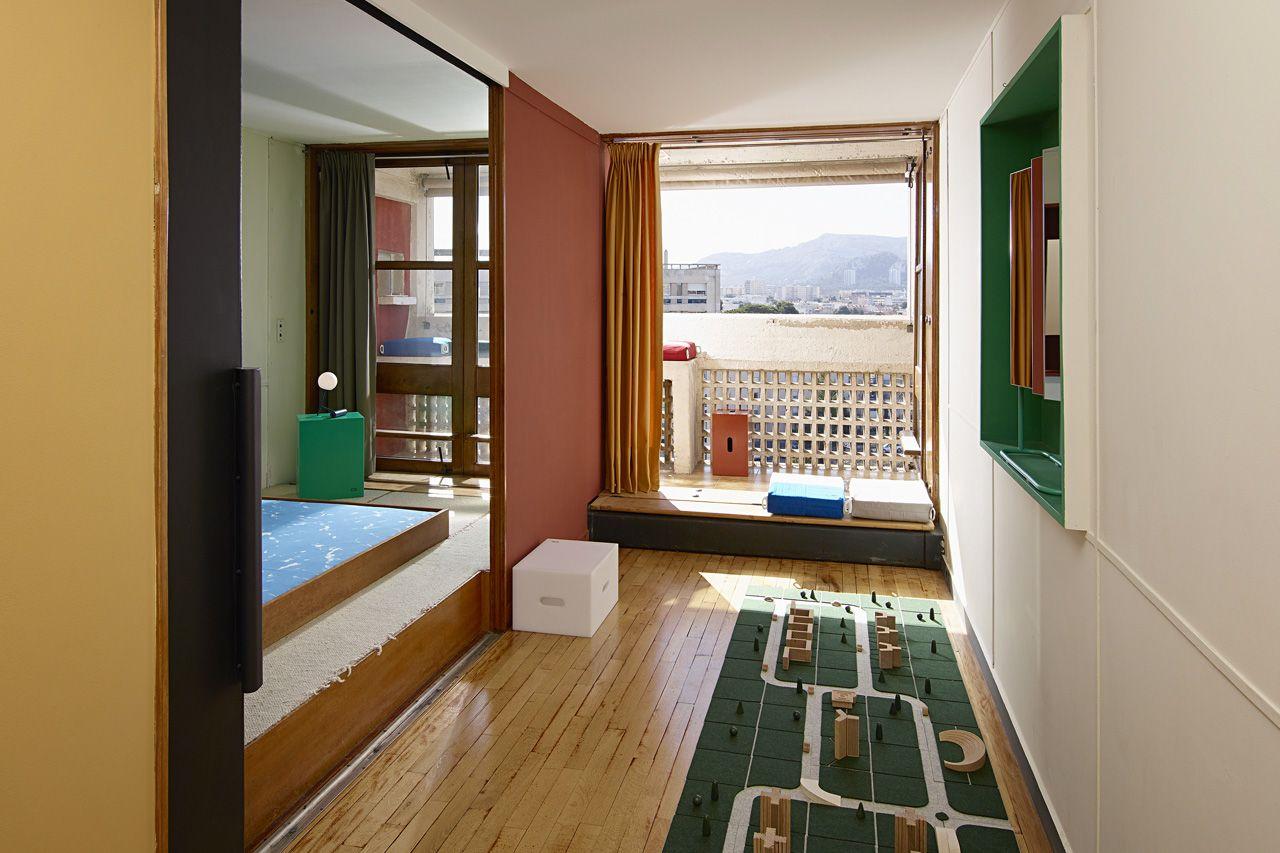Favori cite-radieuse-le-corbusier-marseille-ecal-appartement-n°50 | Le  LI28
