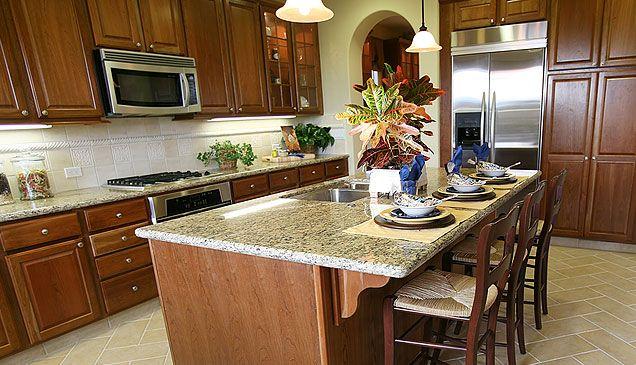 Light kitchen countertops 2012 & Light kitchen countertops 2012 | For the Home | Pinterest | Granite ...