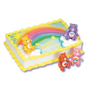 Care Bears Cake Decorating Kit Decoration Sofias Party Ideas