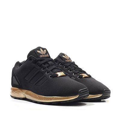 adidas zx flux nero e gold