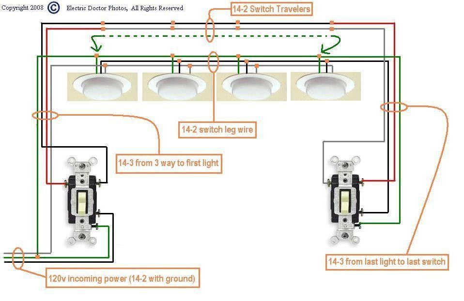 Three Switch Wiring Diagram