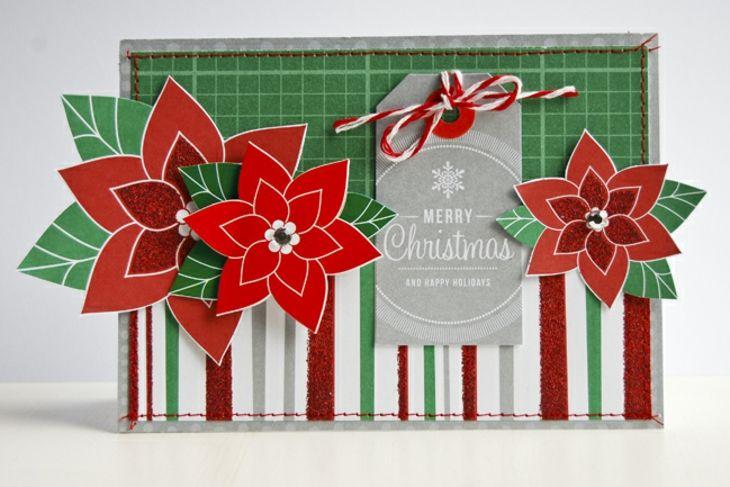 Tarjetas De Navidad Originales Diy Casa Flor Navidad Ideas - Tarjetas-originales-para-navidad