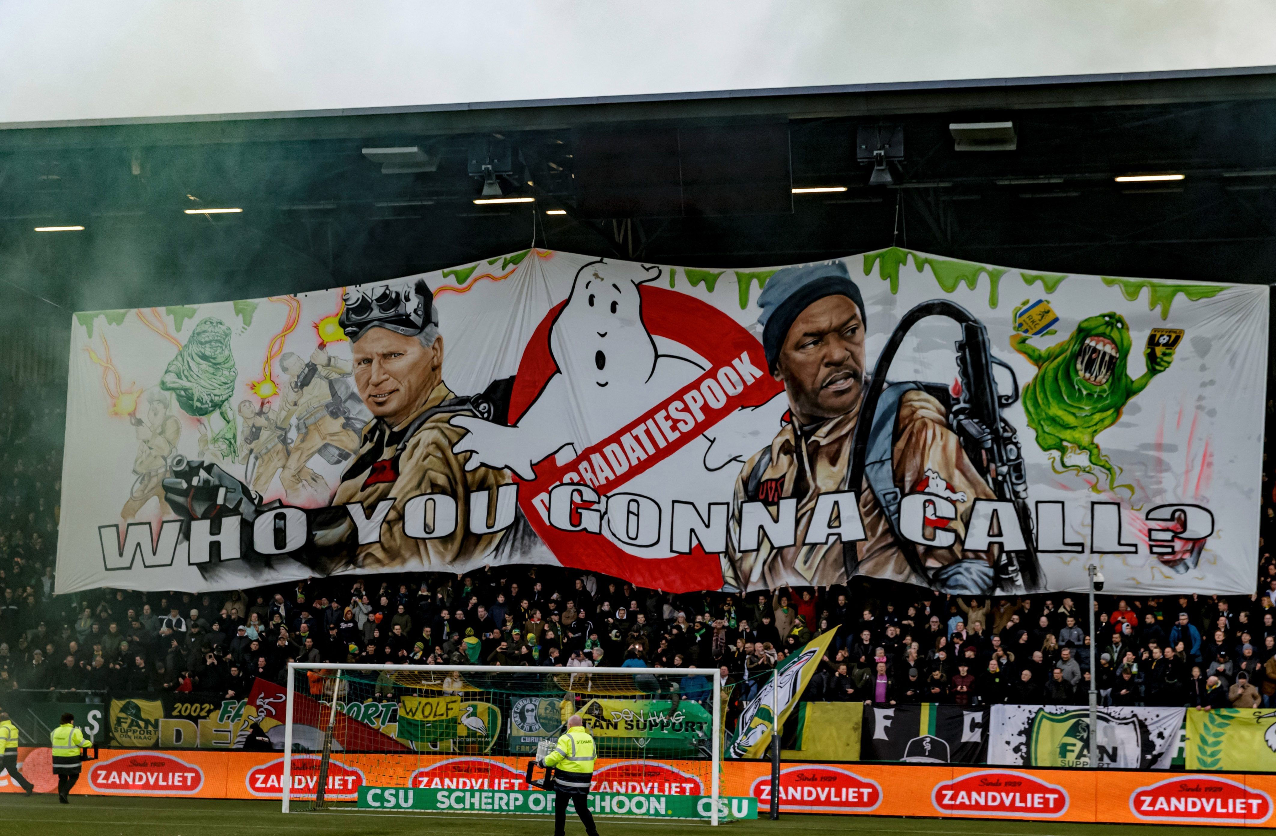 Ado Den Haag Fans Invade Alan Pardews Training Session To Protest Against Ex West Brom Boss Tactics As Poor Eredivisie Form Alan Pardew West Brom Ghostbusters