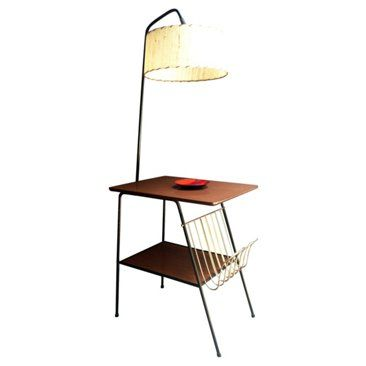 Check Out This Item At One Kings Lane 1950s Wrought Iron Table Lamp Wrought Iron Table Iron Table Floor Lamp Table