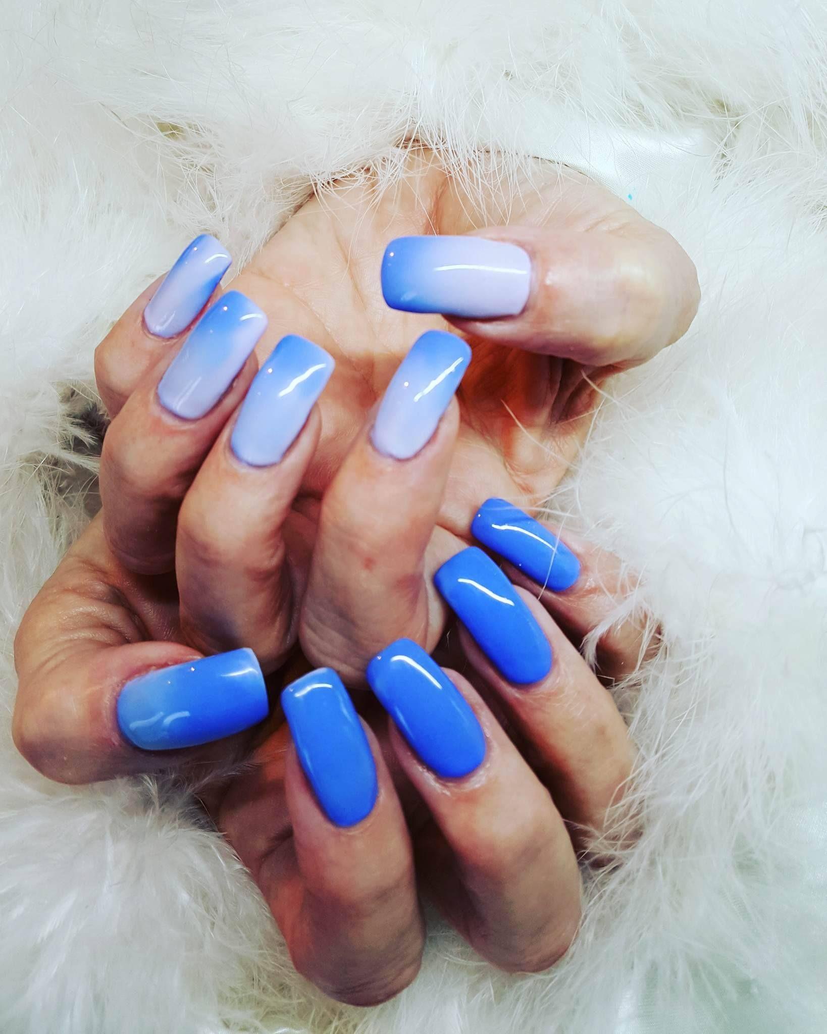 Blue mood gel polish door Christel Audenaerd van Blue Sage | Mood ...