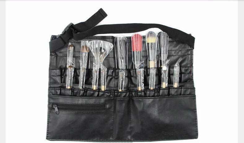 Новый 2016 горячий высокое качество профессиональный макияж кисти организатор Bolso Mujer косметические поясная сумка красота инструмента Necesser купить на AliExpress