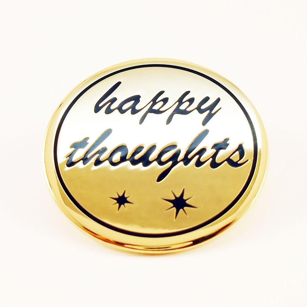 Other World Shop — Happy Thought pin Happy thoughts