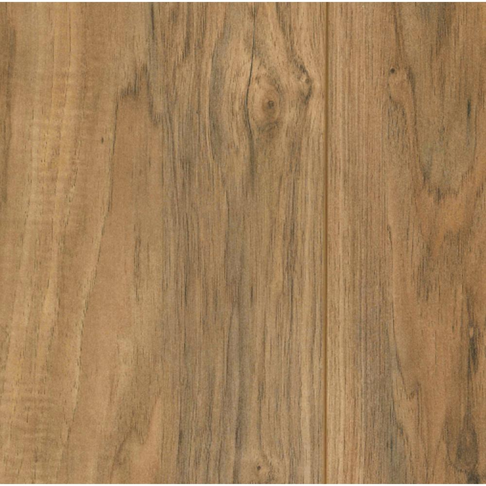 Trafficmaster Lakeshore Pecan 7 Mm Thick X 7 2 3 In Wide X 50 5 8 In Length Laminate Flooring 24 17 Sq Ft Case 35947 Laminate Flooring Installing Laminate Flooring Flooring
