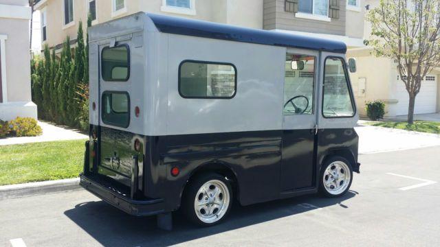 1963 Studebaker Zip Van Step Van Postal Van Mail Truck P10 Ice Cream Truck Studebaker Step Van Mail Truck