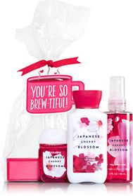 Japanese cherry blossom youre so brew tiful gift set signature from do it yourself gift sets to pre packaged gift baskets we have the perfect gift for her no matter the occasion solutioingenieria Gallery