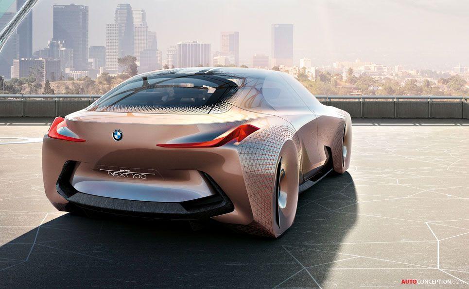 Bmw Unveils Vision Next 100 Concept Car Autoconception Com With