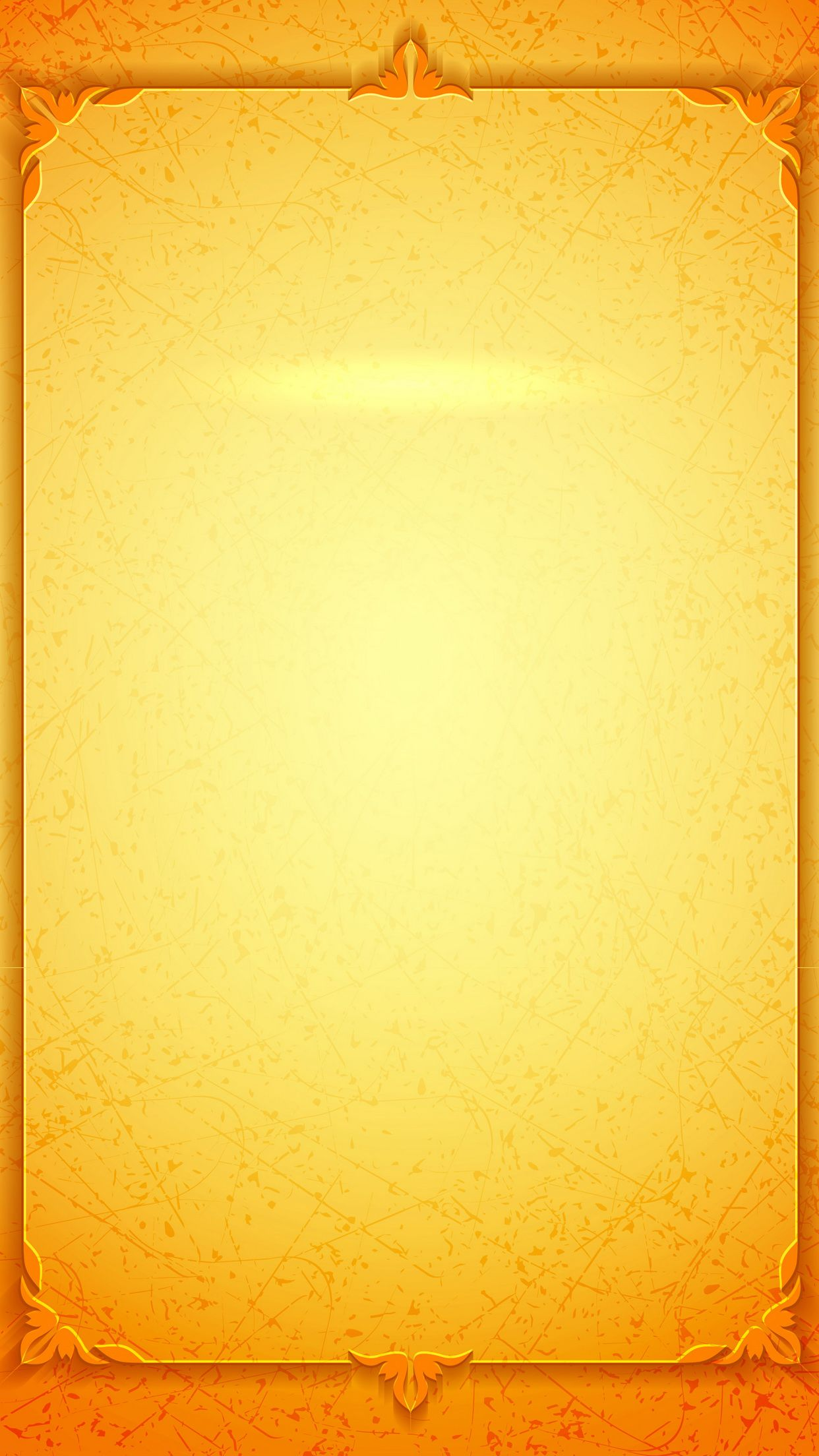 invitations h5 background gold
