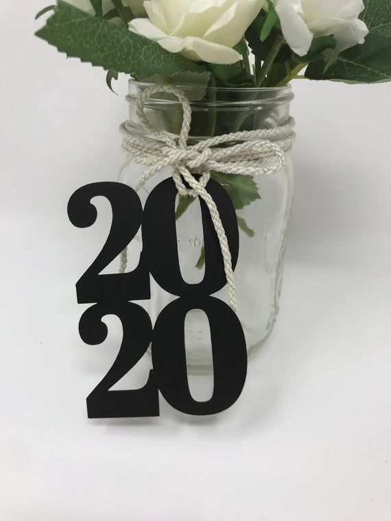 Graduation party decorations 2020 – table decorations – Class of 2020 – Graduation party Centerpiece – 2020 Graduation Tags- 2020 cut out