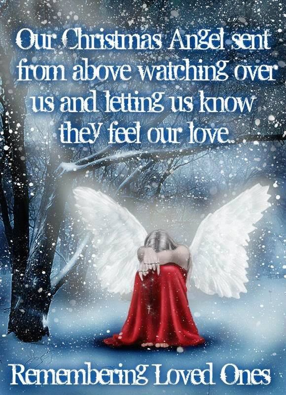 Remembering Loved Ones on Christmas miss you family quotes heaven ...