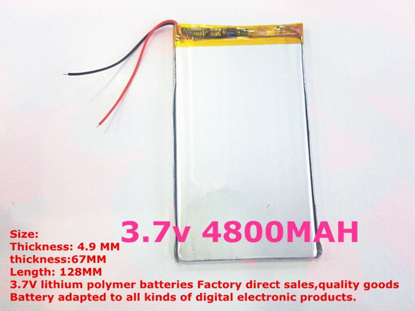 $13.33 (Buy here: https://alitems.com/g/1e8d114494ebda23ff8b16525dc3e8/?i=5&ulp=https%3A%2F%2Fwww.aliexpress.com%2Fitem%2Fbest-battery-brand-1PCS-free-shipping-Sell-like-hot-cakes-4967128-li-polymer-ma-4800MAH-for%2F32667278627.html ) best battery brand 1PCS free shipping Sell like hot cakes 4967128 'li polymer' ma '4800MAH for the tablet PC for just $13.33