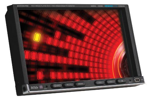 Special Offers - Boss Audio BV9557 Double-DIN 7-Inch Touchscreen TFT