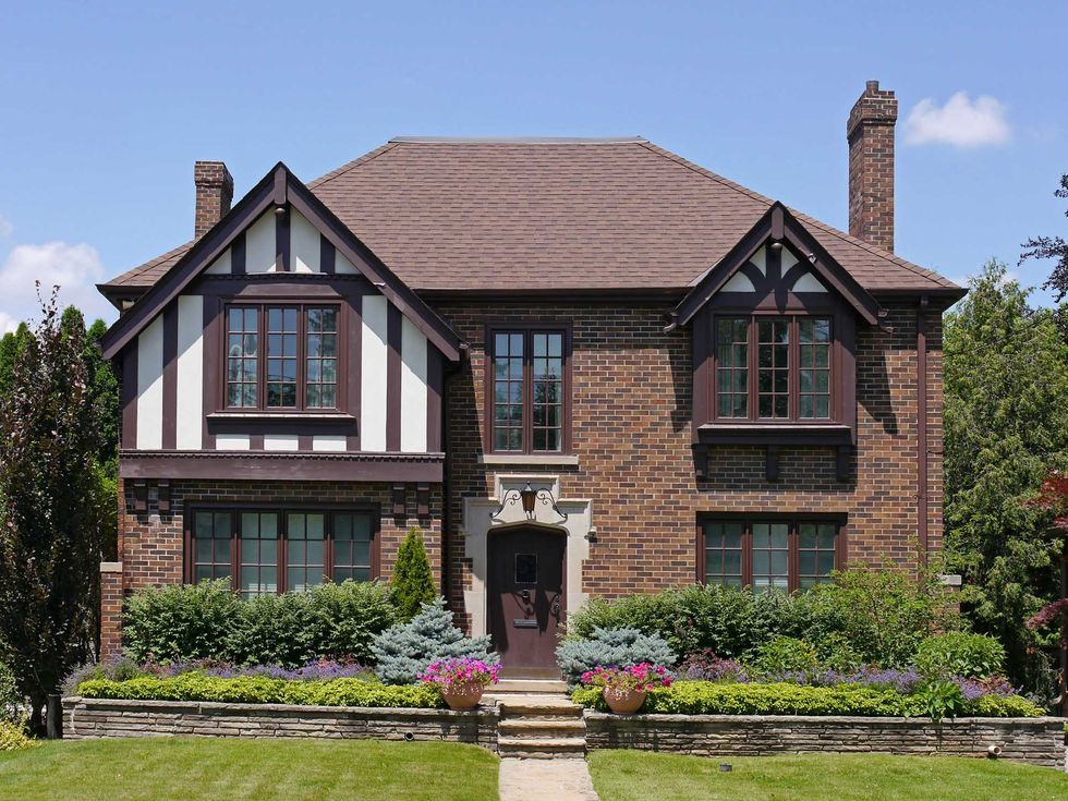Everything You Ever Wanted To Know About Tudor Style Houses Tudor Style Homes Brick Exterior House Tudor House