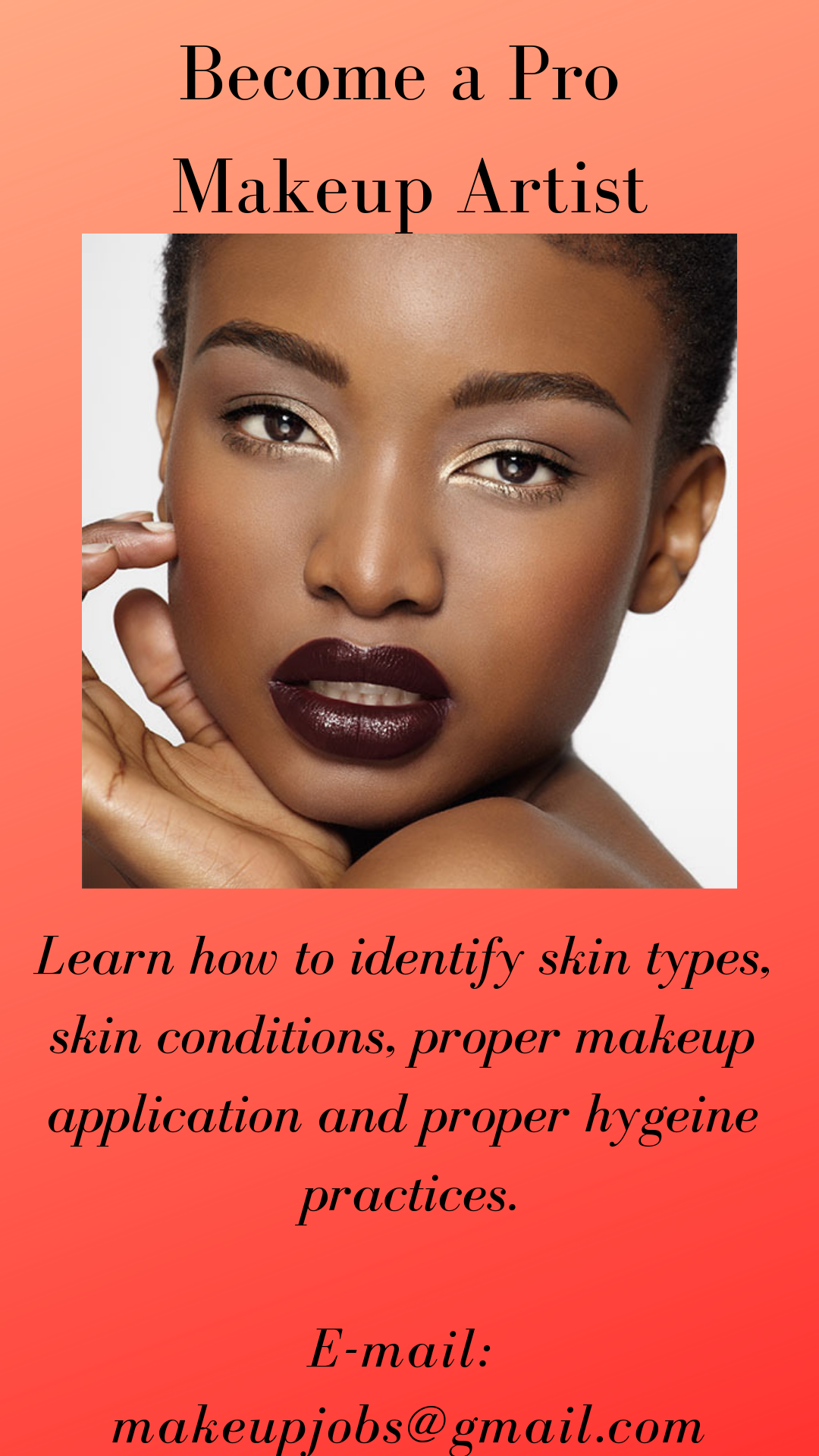 makeup artist training certified makeup trainings
