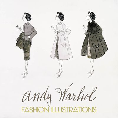 Three Female Fashion Figures, c. 1959 Reprodukcja