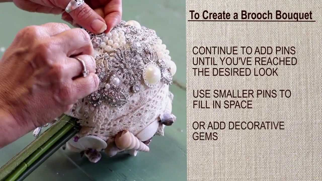 Brooch Bouquets How To Make Easy Diy Brooch Bouquet And How To