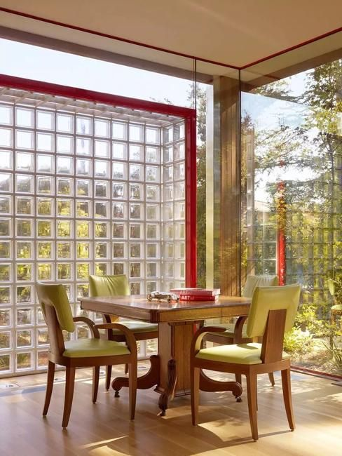 Glass Block Designs Of Exterior Walls Infusing Natural Light Into