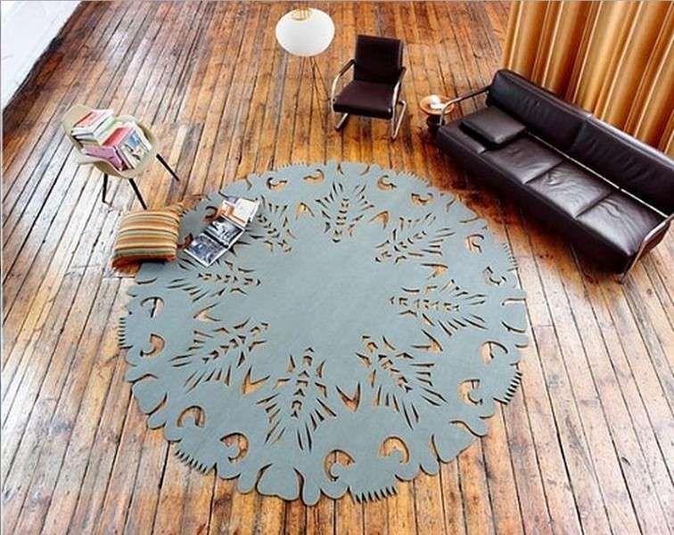 Tappeti rotondi, le idee più belle per arredare casa | Architettura ...