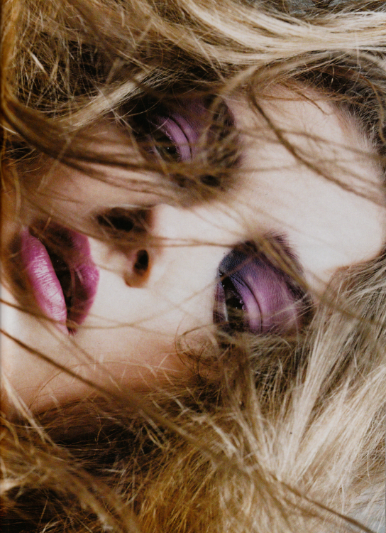 Lily Donaldson by Simon Emmet for Numéro #53 May 2004