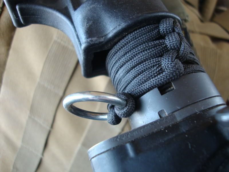 Paracord Single Point Sling Mount Paracord Diy
